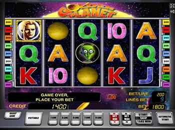 Игровые автоматы Вулкан на деньги Golden Planet