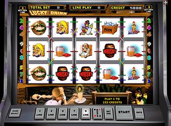 Игровые автоматы на деньги Вулкан Lucky Drink