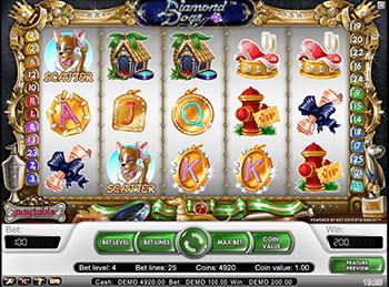 Игровые автоматы на деньги Вулкан Diamond Dogs