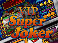Играйте в казино на слот-машине Super Joker