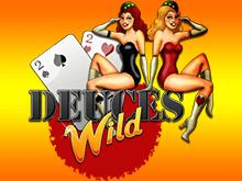 Deuces Wild - онлайн-вариация покера с дополнительным джокером Netent